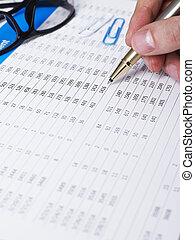 financieel rapport