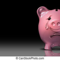 financieel, wanhoop