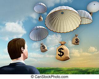 financier, aide