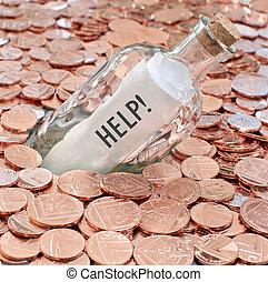 financier, appeler, crise, aide