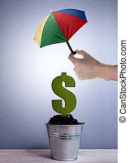 financier, assurance commerciale