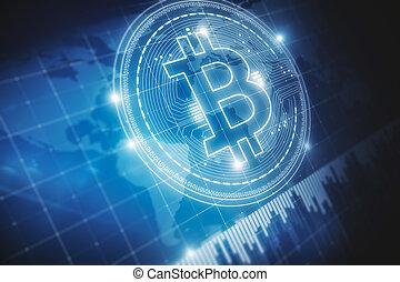 financier, bitcoin, fond