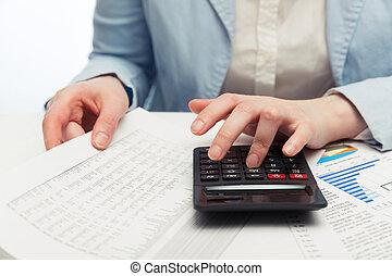 financier, comptabilité
