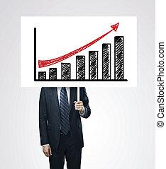 financier,  concept, croissance