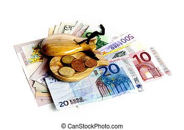 financier, crise, espagne