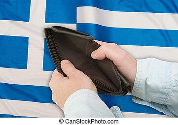 financier, crise, grèce