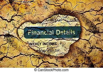 financier, détails