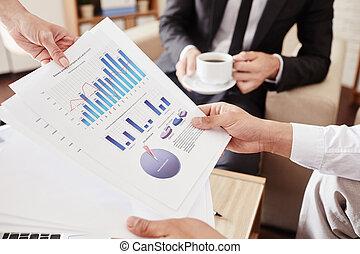financier, données