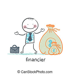 financier is a bag of money