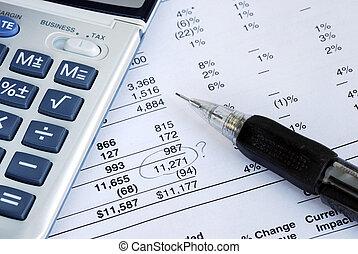 financier, quand, déclaration, apurer, trouver, erreur