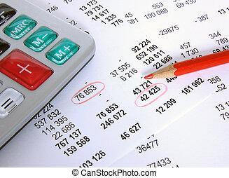 financiero, cuenta
