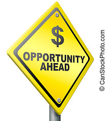financiero, oportunidad, fortuna