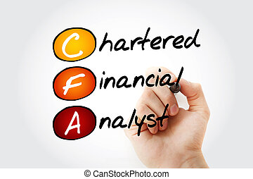 financiero, siglas, -, cfa, alquilado, analista