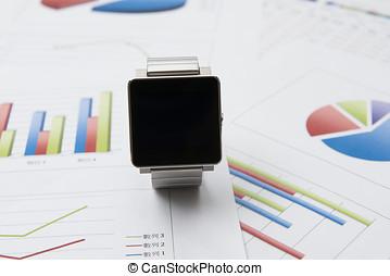 financiero, tableta, calculadora, Analizar,  digital, Contar, datos