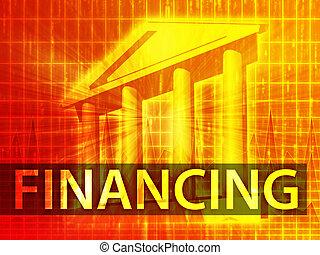 Financing illustration