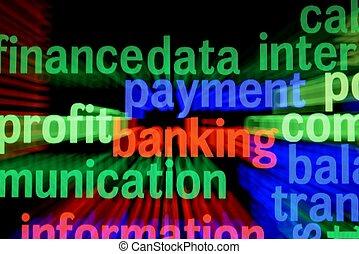 finans, betalning, bankrörelse