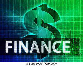 finans, illustration