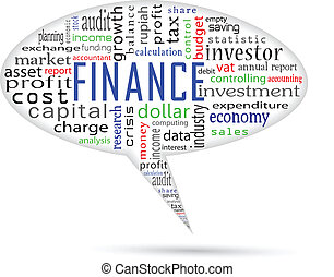 finanse, i, uważając, na, bańka, ta