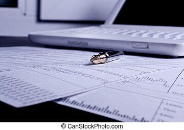 finanse, wykresy, analiza