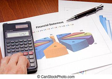 finanse, wykresy