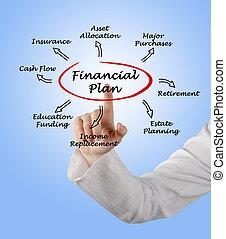 finansiel plan