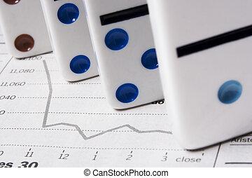 finansiell, din, nej, lek, framtid