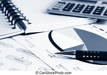 finansiell, meddelar