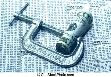 finansiell påtryckning