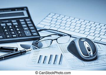 finansielle, bogholderi