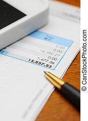 finansielt begreb, bogholderi