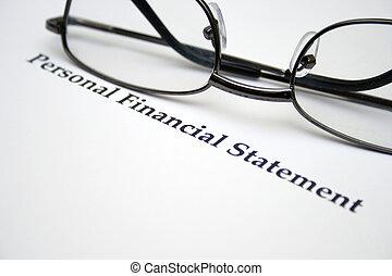 finansowa deklaracja