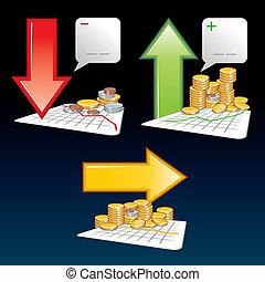 finansowe ikony