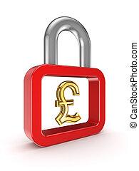 finansowy, concept., bezpieczeństwo