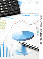 finansowy, dane, analiza