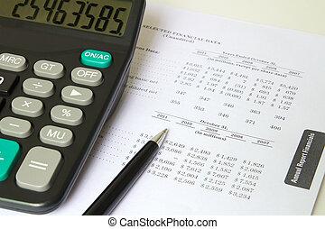 finansowy, listek