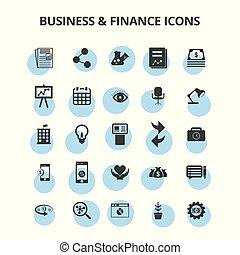 &, finanz, geschäfts-ikon