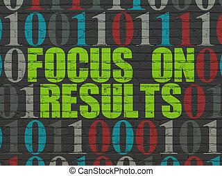 finanz, wand, fokus, ergebnisse, hintergrund, concept: