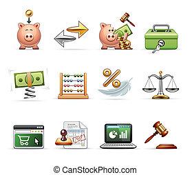 finanzas, ahorros, empresa / negocio, y