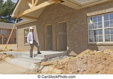 finanzas, construcción, director