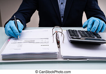 finanzas, corporativo, calcular, impuesto, presupuesto