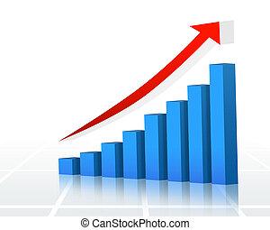 finanzas, gráfico