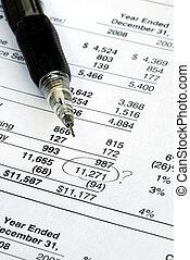 finanziario, quando, dichiarazione, verificare, trovare,...