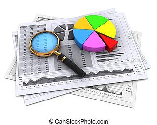 finanziell, Berichte