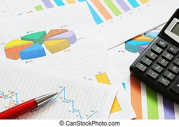finanziell, dokumente