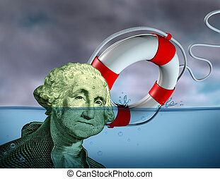 finanziell, rettung