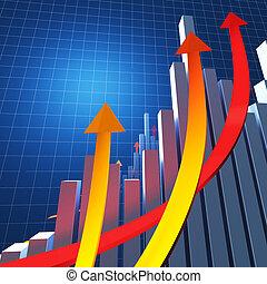 finanzielles diagramm