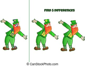 find 5 differences
