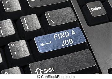 Find a job key