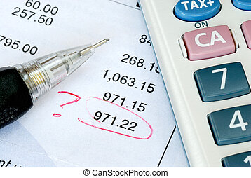 Find a mistake during auditing - Find a mistake when...