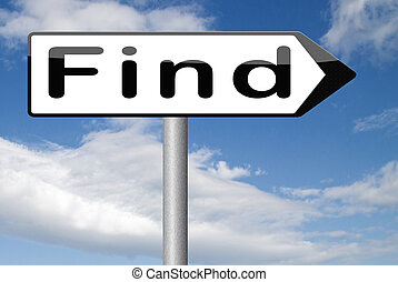 find answers and solution a way to solve problems search and discover truth road sign